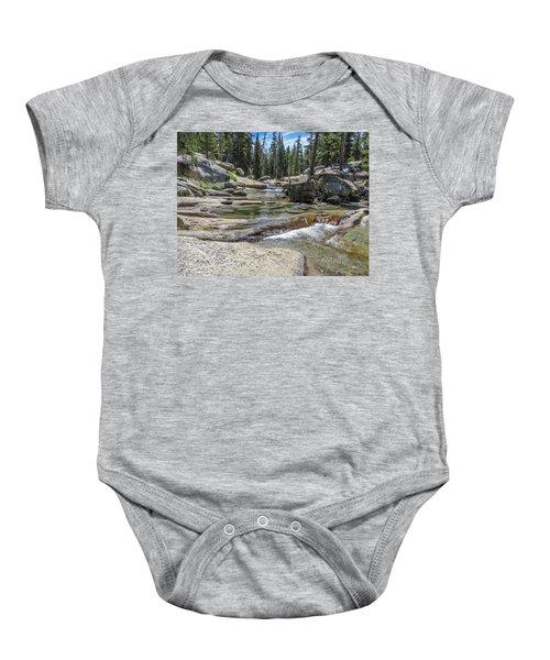 Lyell Fork Tuolomne River Yosemite National Park Baby Onesie