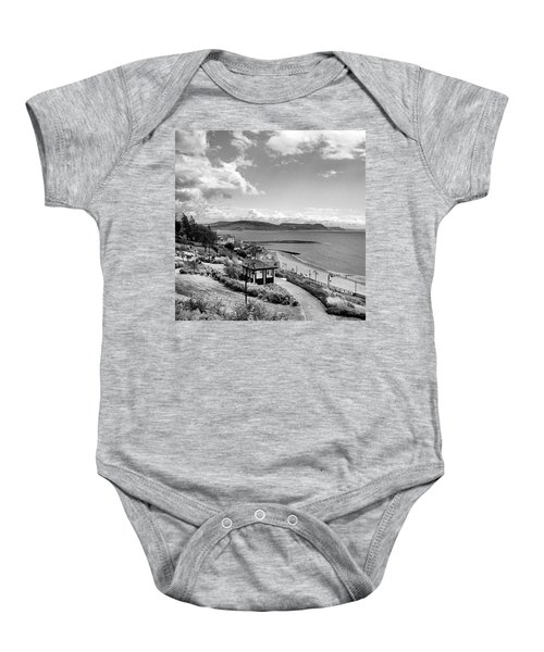 Lyme Regis And Lyme Bay, Dorset Baby Onesie by John Edwards
