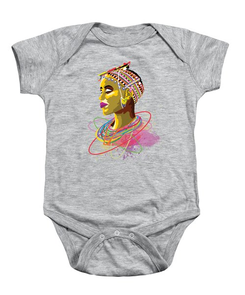 Maasai Beauty Baby Onesie