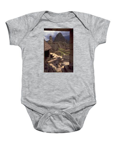 Baby Onesie featuring the photograph Machu Picchu by Travel Pics
