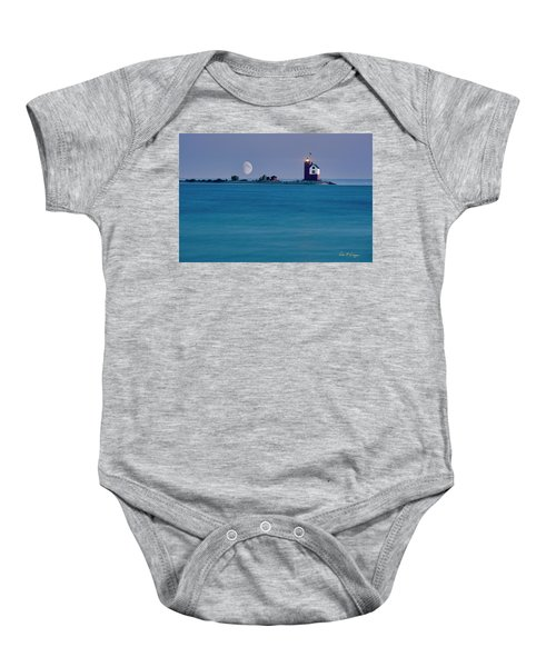 Mackinac Moon Baby Onesie