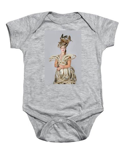 Isabel In Mad Hutter Baby Onesie