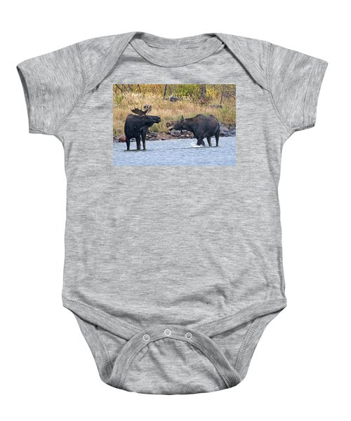 Mad Mamma Moose Baby Onesie
