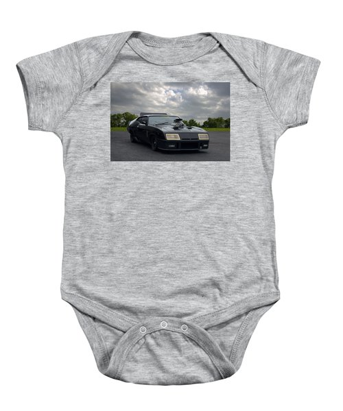 Mad Max Mfp Interceptor Replica Baby Onesie