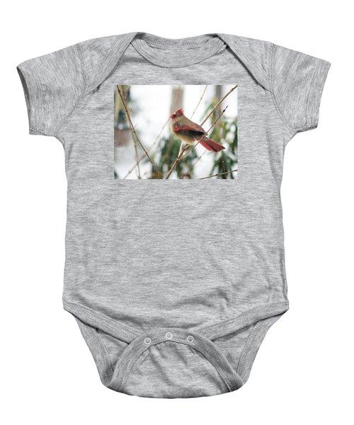 Madam Cardinal Baby Onesie