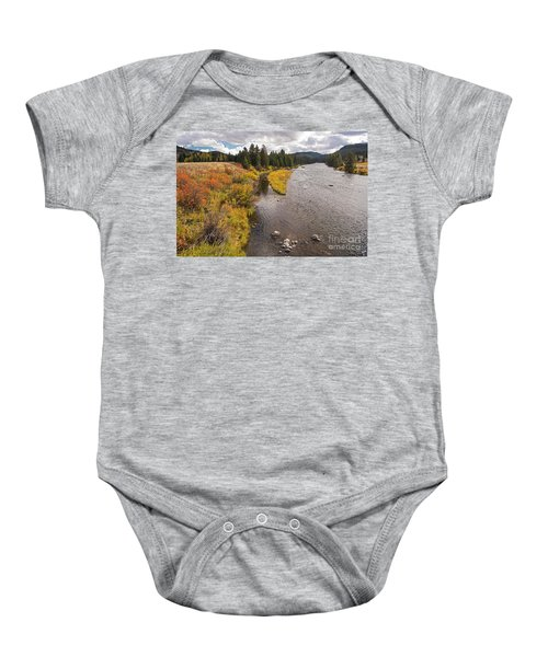 Madison River Baby Onesie