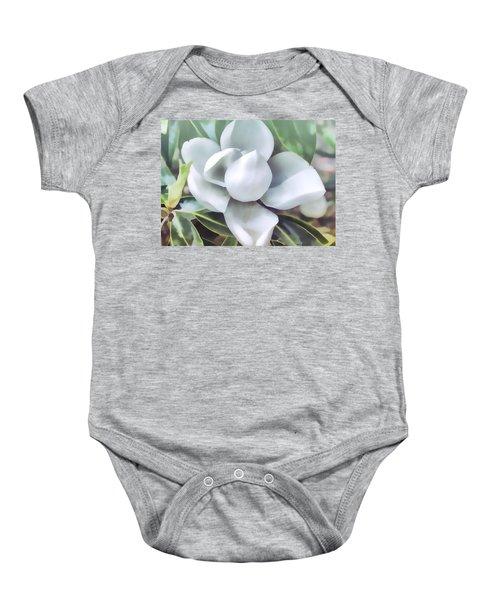 Magnolia Opening 2 Baby Onesie