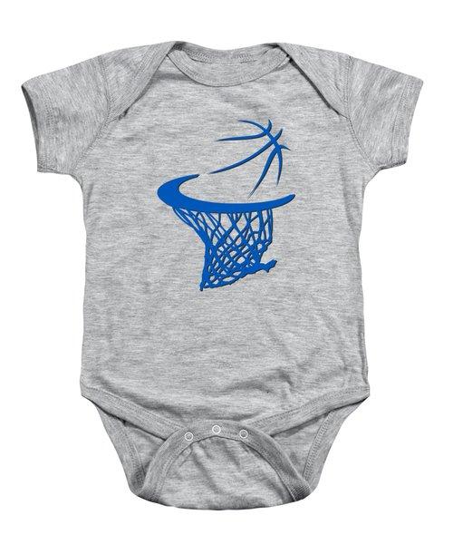Magic Basketball Hoop Baby Onesie
