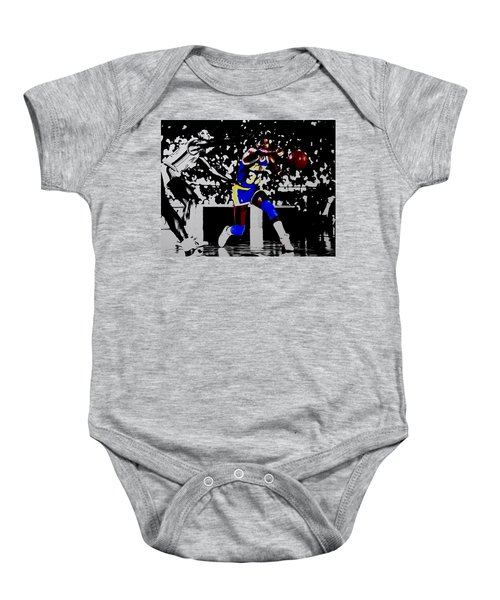 Magic Johnson Bounce Pass Baby Onesie