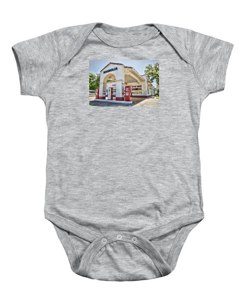Magnolia Gas - Little Rock Baby Onesie