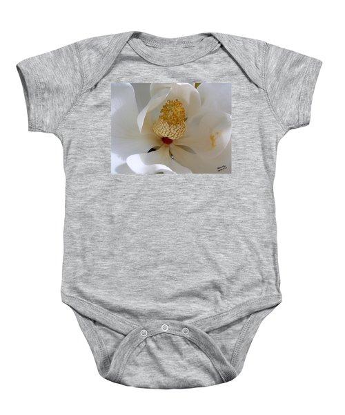 Magnolia Happiness Baby Onesie