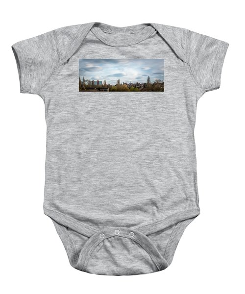 Majestic Cloud 1 Baby Onesie