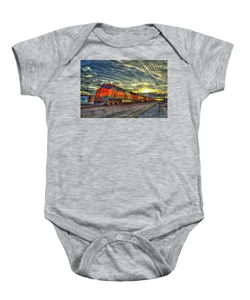 Make Way Resting B N S F Train Gallup New Mexico Art Baby Onesie