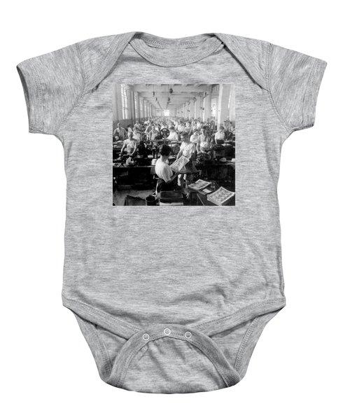 Making Money At The Bureau Of Printing And Engraving - Washington Dc - C 1916 Baby Onesie