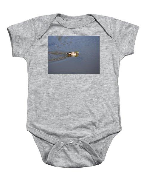 Mallard Duck Burgess Res Co Baby Onesie