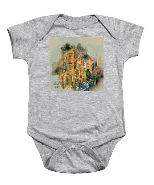 Maltese Street Baby Onesie