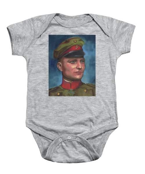 Manfred Von Richthofen The Red Baron Baby Onesie