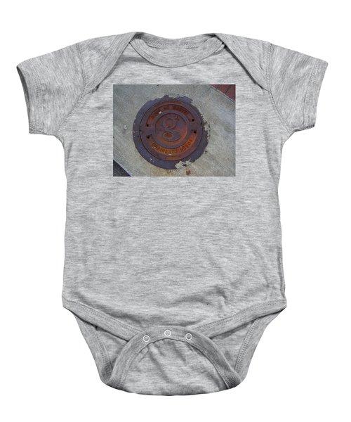 Manhole IIi Baby Onesie