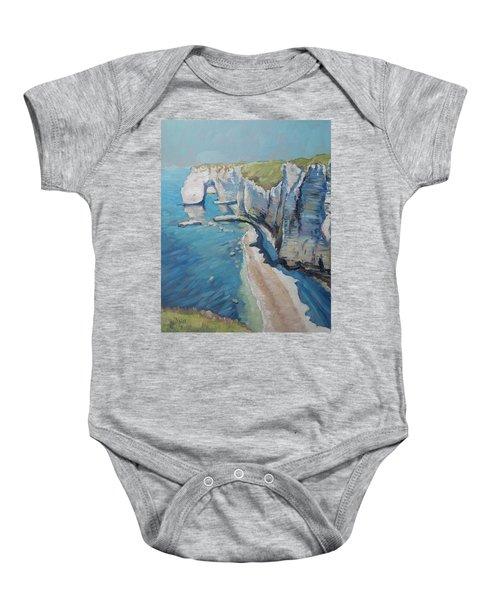 Manneport, The Cliffs At Etretat Baby Onesie