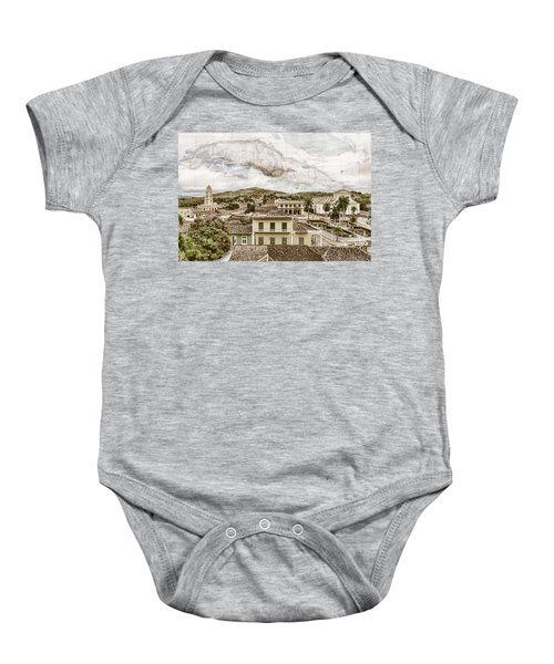 Mapping Trinidad Baby Onesie