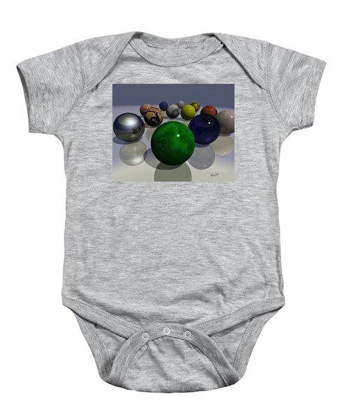 Marbles Baby Onesie
