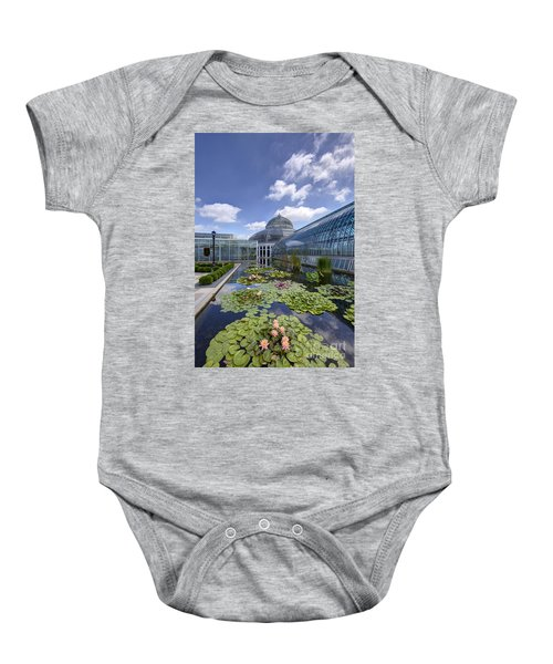Marjorie Mcneely Conservatory At Como Park And Zoo Baby Onesie