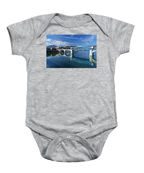 Market Street Bridge  Baby Onesie