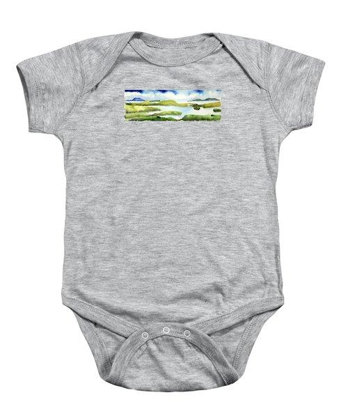 Marshes Baby Onesie