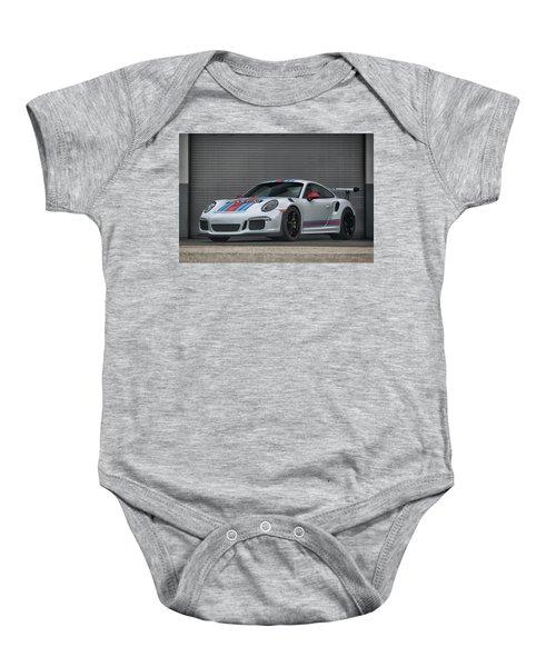 #martini #porsche 911 #gt3rs #print Baby Onesie