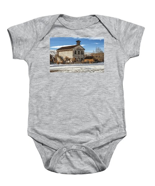 Masonic Lodge School Baby Onesie