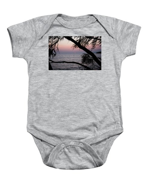 Baby Onesie featuring the photograph Maui Sunset by Jennifer Ancker