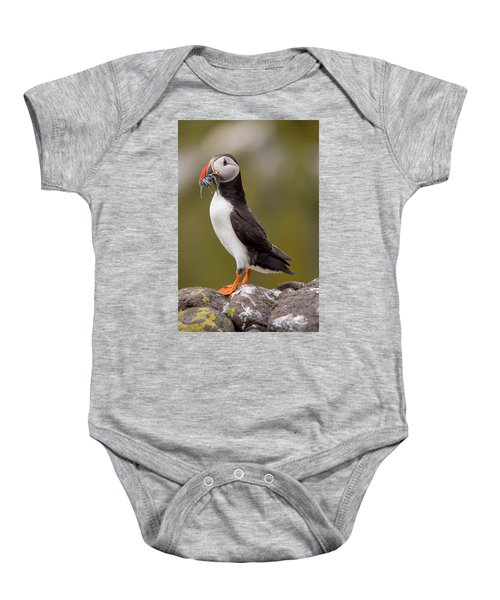 May Puffin Baby Onesie