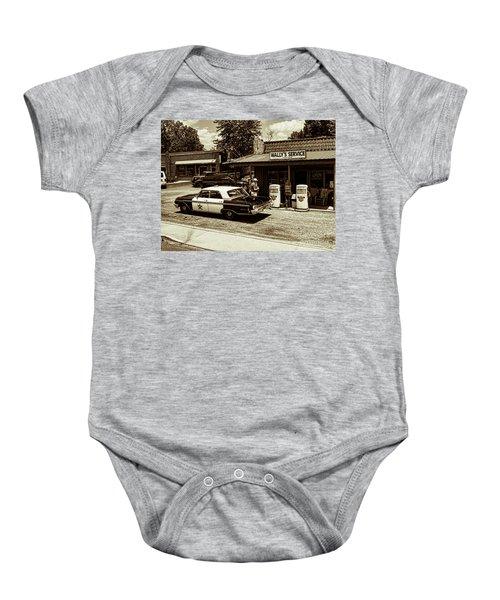 Automobile History Baby Onesie