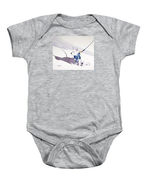 Me And My Shadow Baby Onesie