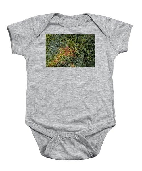 Meadow Floor Baby Onesie