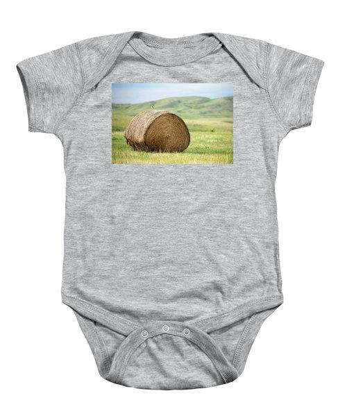 Meadowlark Heaven Baby Onesie