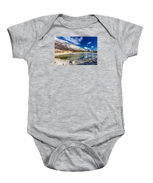 Medicine Lake Jasper Baby Onesie