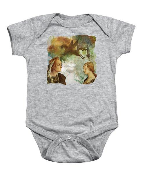 Medieval Dreams Baby Onesie by Terry Fleckney