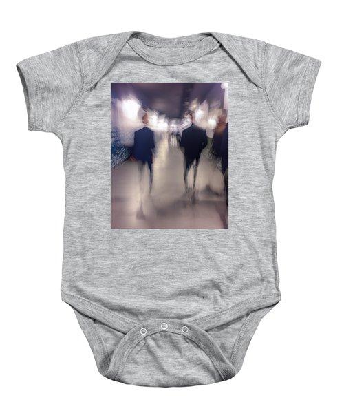 Men In Suits Baby Onesie