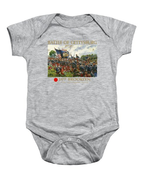 Men Of Brooklyn Baby Onesie by Mark Maritato