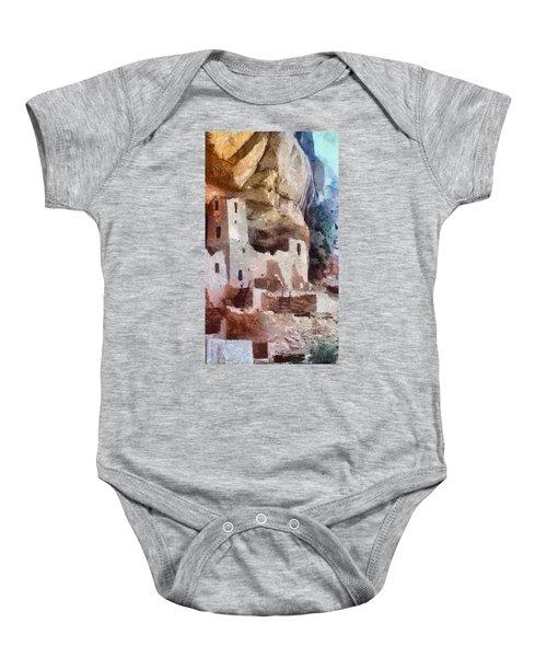 Mesa Verde Baby Onesie