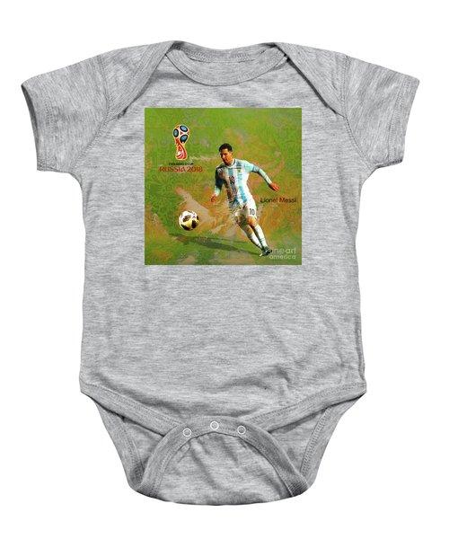 Messi World Cup 2018  Baby Onesie