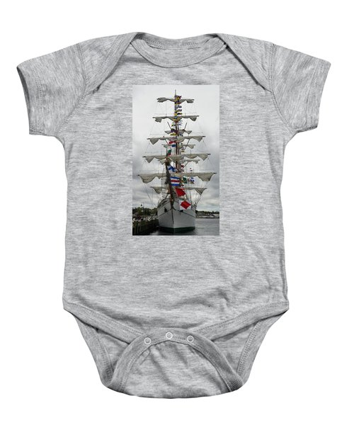 Mexican Navy Ship Baby Onesie