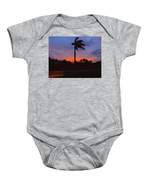 Miami Sunset Baby Onesie