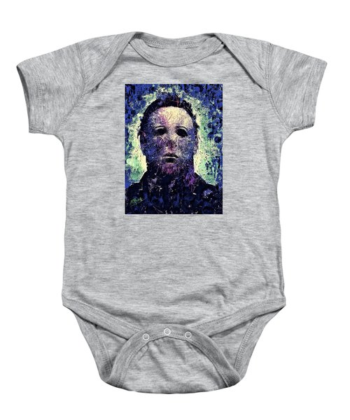 Michael Myers Baby Onesie