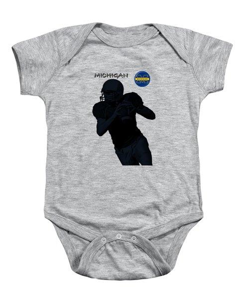 Michigan Football  Baby Onesie