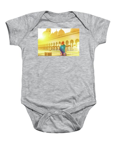 Middle East Tourism Concept Baby Onesie