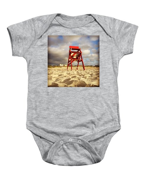 Mighty Red Baby Onesie
