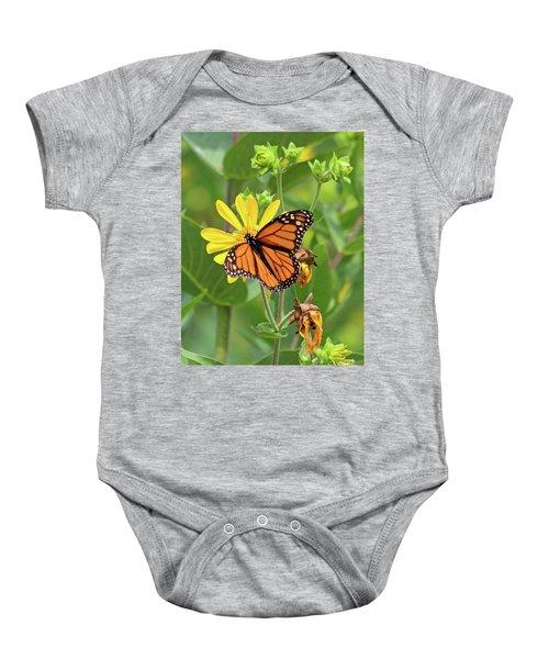 Mighty Monarch   Baby Onesie