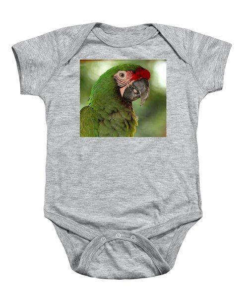 Military Macaw Baby Onesie